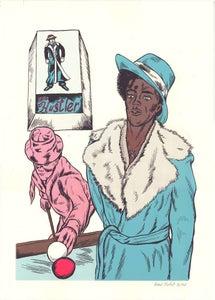 Image of The Hustler Silkscreen Print