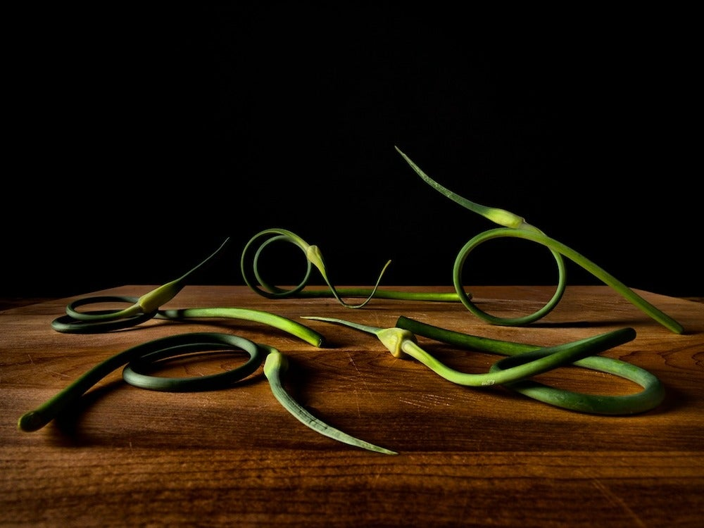 Image of Garlic scapes