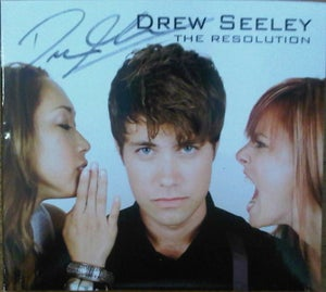 Image of Autographed album 'The Resolution'