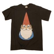 Image of Gnome T Shirt (Black + Yellow)