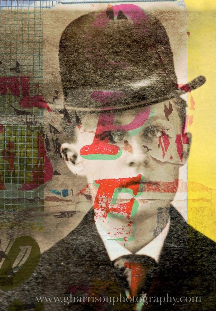 Image of Man in the Hat, blank 5 x 7 Fine art Card by Gavin Harrison