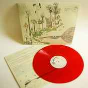 "Image of ""Reverence for Fallen Trees"" LP on red vinyl"