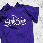 Image of Purple Abyss Logo Tee