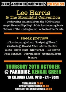 Image of Lee Harris & The Moonlight Convention - LIve @ The Paradise - TICKETS