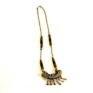 Image of Ethiopian silver necklace