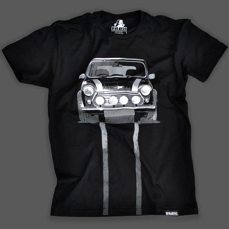 Image of Classic Mini Cooper T-shirt (black)