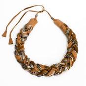 Image of braided glory necklace