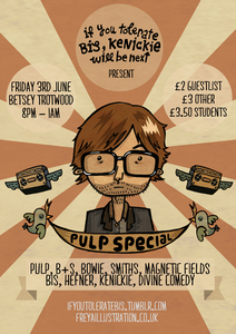 Image of If You Tolerate Bis... Pulp Special! Poster