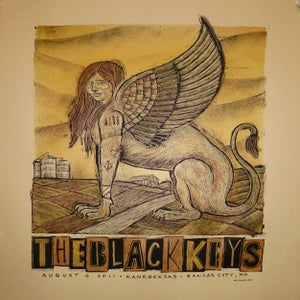 Image of The Black Keys Kanrocksas Poster