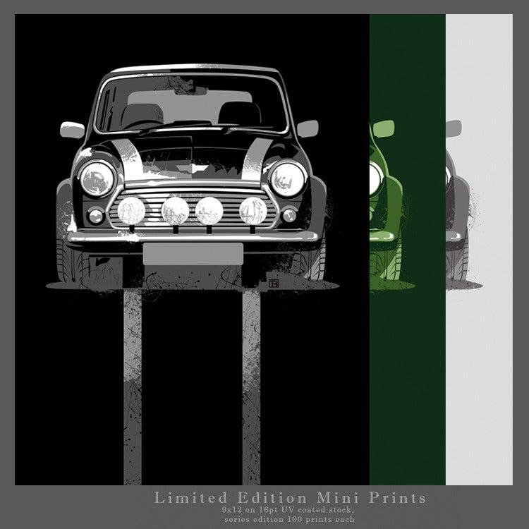 Image of Classic Mini 9x12 Print
