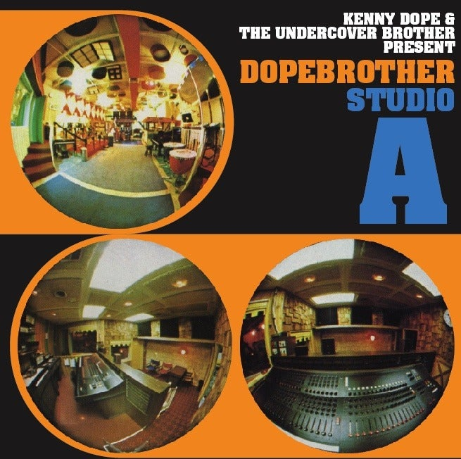 Image of Kenny Dope & The Undercover Brother present Dopebrother Studio A - CD
