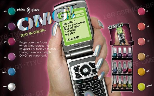 Image of China Glaze Kaleidoscope & OMG Holographic (holo) nail polish collections