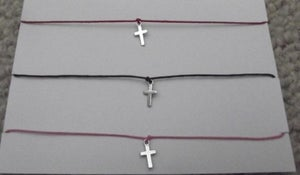 Image of Cross Charm Bracelet