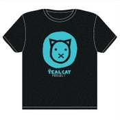 Image of Teal Cat Project Women's Tee