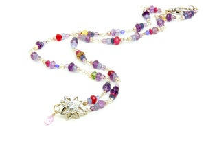 Image of Multicolor Stone Necklace