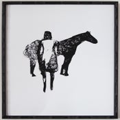 Image of Horse & Girl Print