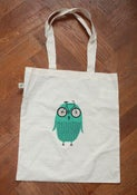 Image of Bike Owl tote bag