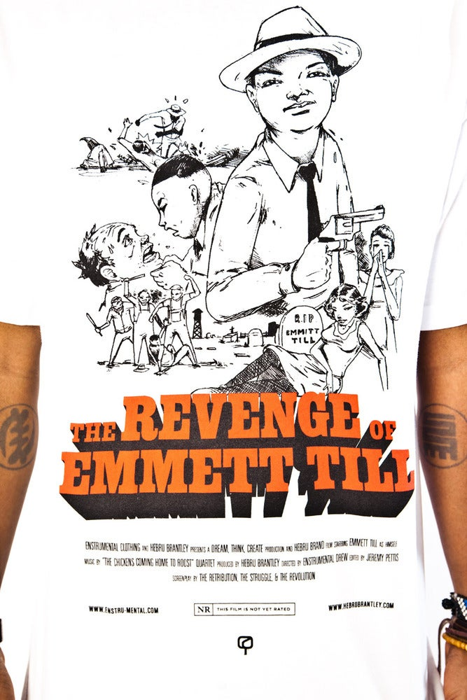 Image of THE REVENGE OF EMMETT TILL - Enstrumental + Hebru Brantley