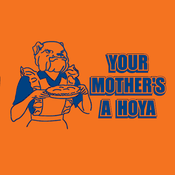 "Image of ""Your Mother's a Hoya"" #CUSE"