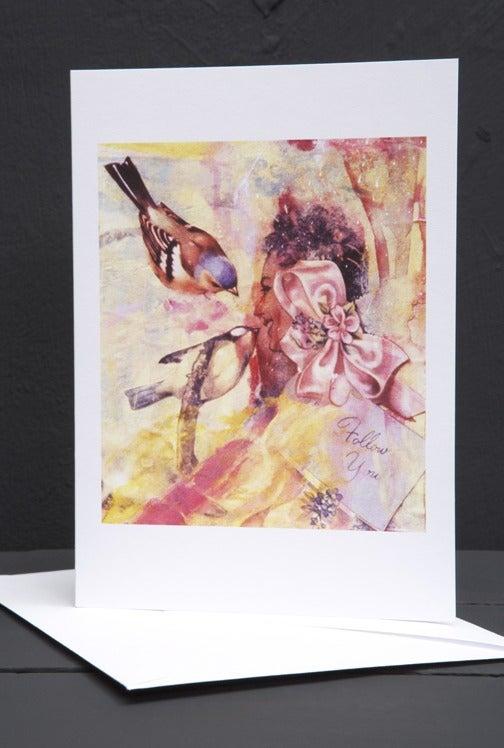 Image of Sweet bird song. Greetings card by Gavin Harrison