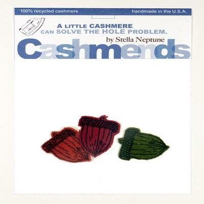 Image of Iron-on Cashmere Acorns - Brilliant Autumn