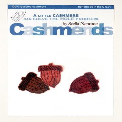 Image of Iron-on Cashmere Acorns - Burnt Autumn