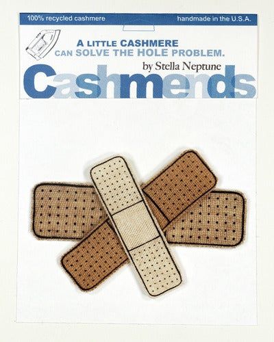 Image of Iron-on Cashmere Band-Aids - Triple Beige