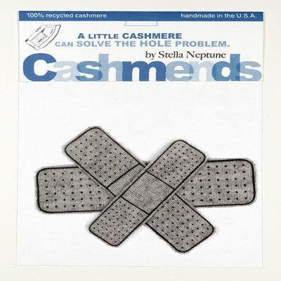 Image of Iron-on Cashmere Band-Aids - Light Grey