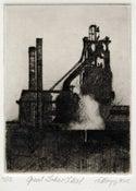 Image of Great Lakes Steel dryoint
