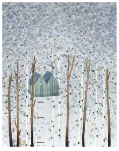Image of Tree House -print
