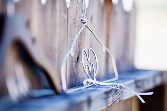 Image of The Original Double Heart Lingerie Hanger