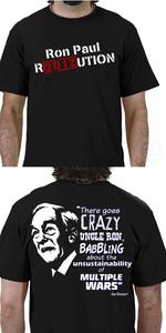 Image of Crazy Uncle Ron Black T-Shirt