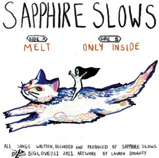 "Image of SAPPHIRE SLOWS ""MELT"" 7"""