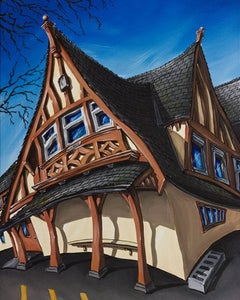 """Image of GNS Coach House 16x20"""" Limited Edition Canvas Giclee"""