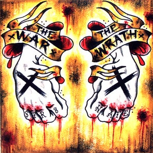 Image of The War/The Wrath Split CD
