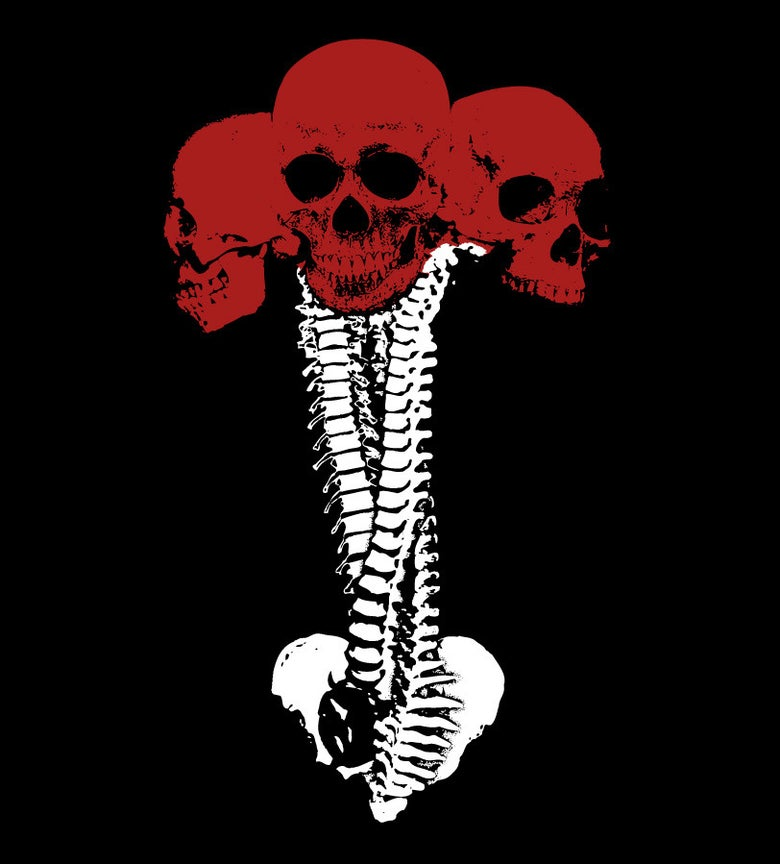 Image of Skull Bouquet