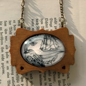 Image of We Were Explorers 'Grand Ship' Framed Pendant