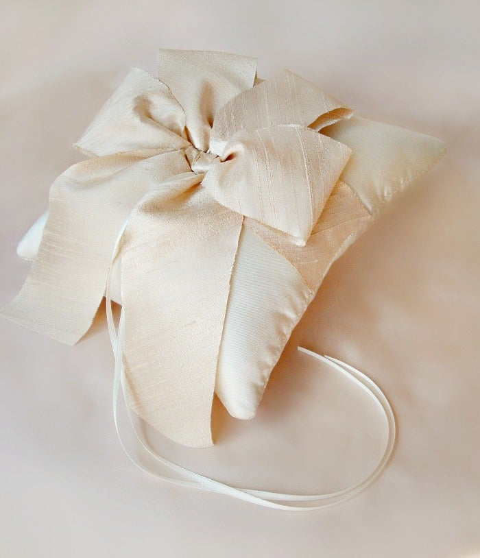 Image of Alena Ring Bearer Pillow - More Colors