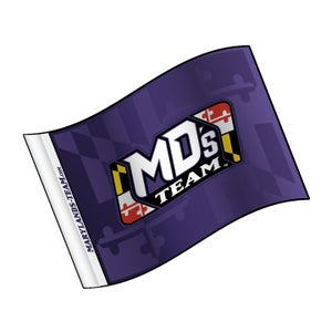 Image of Maryland's Team Fan Flag