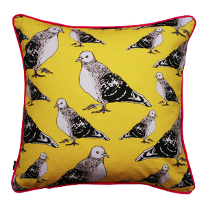 Image of pigeon cushion