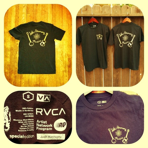 Image of Josh Harmony Music Tee Shirt (RVCA)