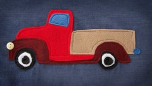 Image of Red Truck