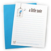 Image of A Little Note Flat Card