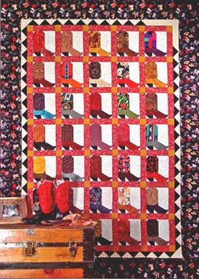 Image of Boot Roundup - Pattern Q109 PAPER Pattern
