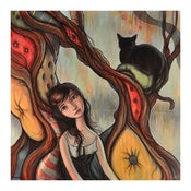 """Image of """"Cushion Tree"""" Limited Edition Print"""