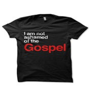 Image of I Am Not Ashamed of the Gospel (Black)