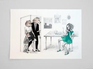 Image of Goldilocks print