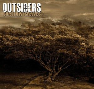 """Image of ALR: 019 Outsiders """"Shallow Graves"""" CD"""