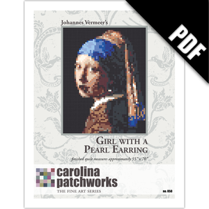 Image of No. 050 -- Girl with a Pearl Earring {PDF Version}