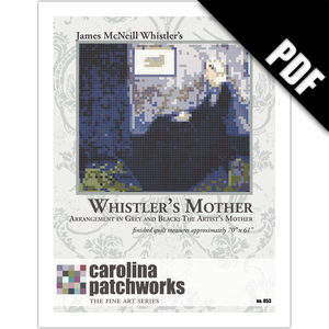 Image of No. 053 -- Whistler's Mother {PDF Version}